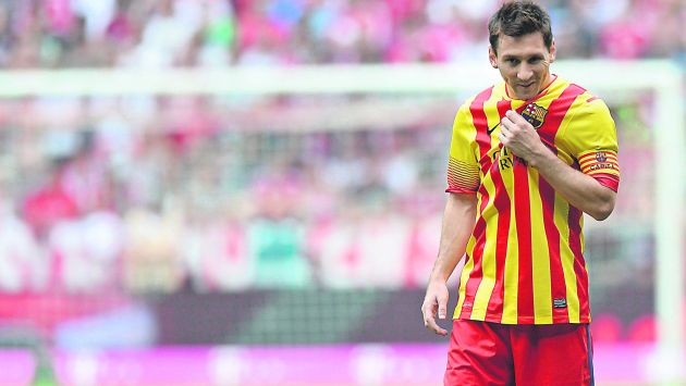 Messi no juega con regularidad debido a molestias físicas que padece desde hacer más de cuatro meses. (AFP)