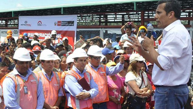 Se proyecta. Humala dice que se fortalece la seguridad energética. (Difusión)