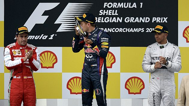 Fórmula 1: Sebastian Vettel ganó el Gran Premio de Bélgica