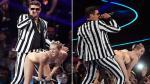 FOTOS: Miley Cyrus enciende polémica con candente presentación en los MTV - Noticias de blurred lines
