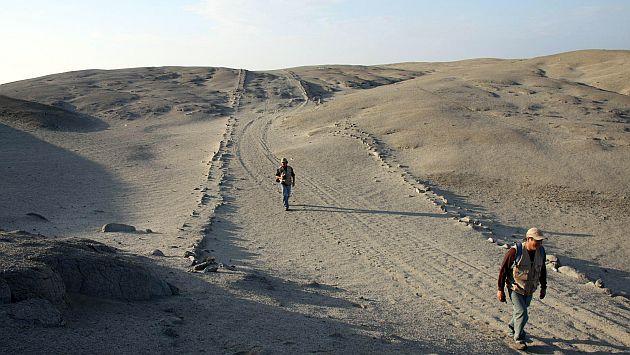 Tramo del Camino Inca inicia desde la parte sur de la Zona Monumental Arqueológica de Manchán. (Difusión)