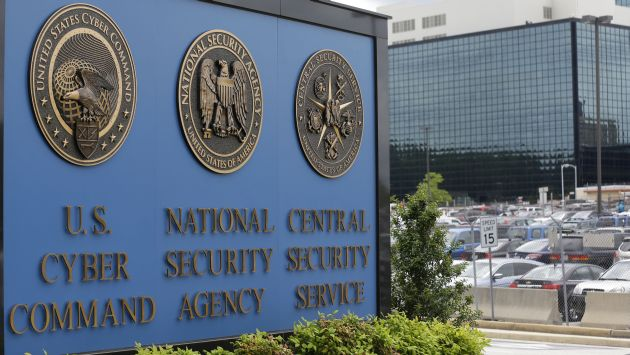 Instalaciones de NSA en Maryland. (AP)