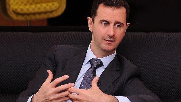 Bashar Al Assad desafía a Estados Unidos. (AFP)