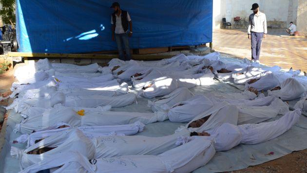Según informe la mayoría de las víctimas eras civiles. (Reuters)