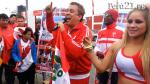 VIDEO: Show musical en la Videna por la blanquirroja - Noticias de richard swing