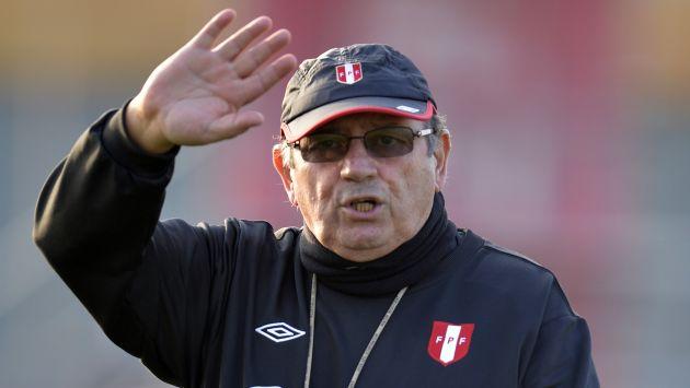 El 'Mago' aseguró que seguirá luchando por la clasificación de Perú al mundial Brasil 2014.(AFP)