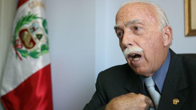 Carlos Tubino defendió férreamente su oposición al cuestionado proyecto de ley. (USI)