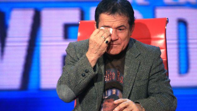 'Miguelito' lloró por su hijo. (Difusión)