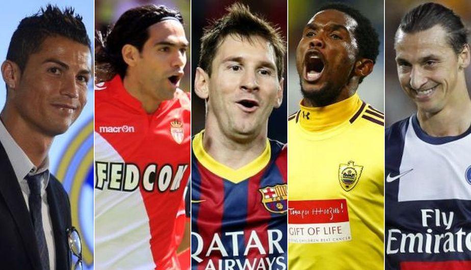 10 mejores futbolistas de la historia: