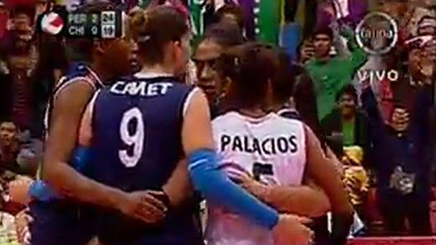 Camet fue una de las protagonistas del partido. (Frecuencia Latina)
