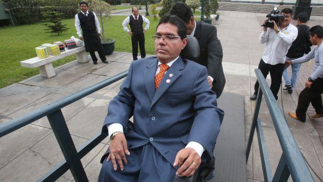 Michael Urtecho también es investigado por Ética. (Martín Pauca)