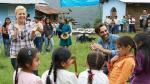 Visitó comunidad campesina - Noticias de revista people