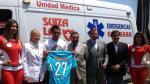 Sporting Cristal lleva una ambulancia a Urcos - Noticias de yair clavijo