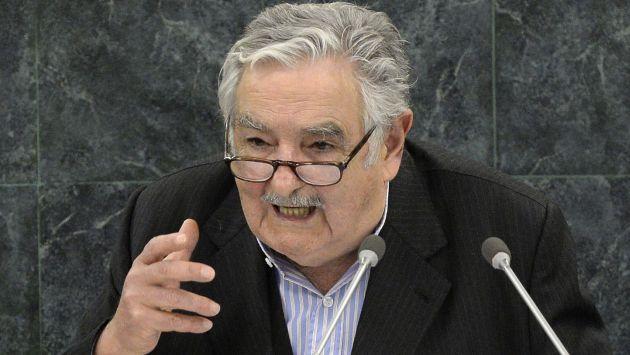 José Mujica durante reciente ponencia en la ONU. (AFP)
