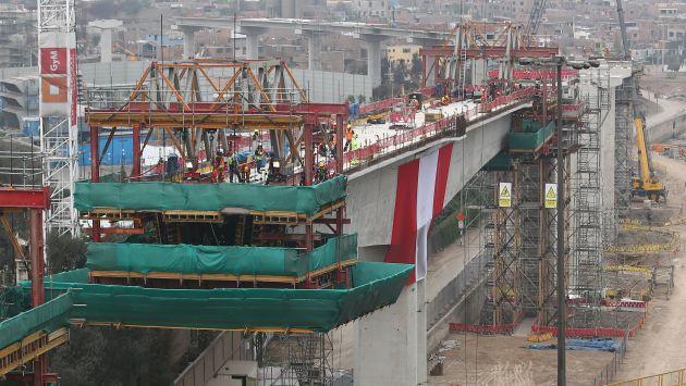 En diciembre se licitaría la línea 2 del Tren Eléctrico. (Rafael Cornejo)