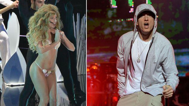 Lady Gaga y Eminem serán las estrellas. (AFP)