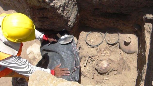 Excavaciones se trabajan en dos frentes para recuperar las piezas sin afectar su integridad. (RPP)
