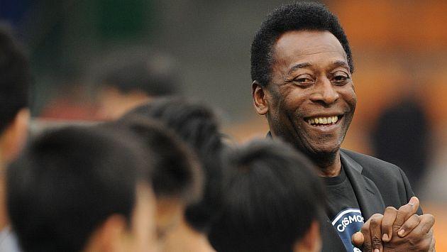 Cinta contará los inicios de Pelé en el fútbol. (AFP)