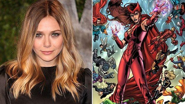 Elizabeth Olsen se une a The Avengers. (Internet)