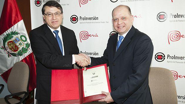 Telefónica firmó contrato con el Estado peruano. (Difusión)