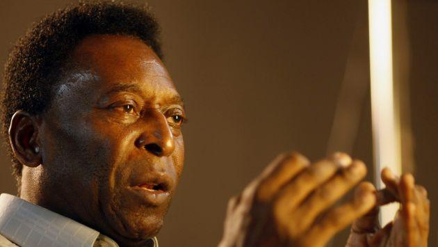 Pelé nunca habría reconocido a los menores como sus nietos. (Reuters)