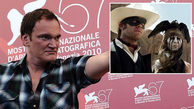 Quentin Tarantino defendió película de Johnny Depp. (AFP/AP)