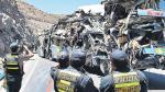 Bus choca contra cerro y mueren 13 pasajeros - Noticias de gustavo parihuana