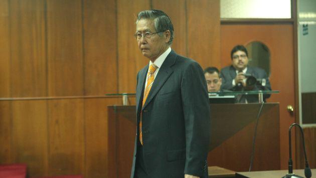 Proceso a Alberto Fujimori se iniciará este 17 de octubre. (Perú21)