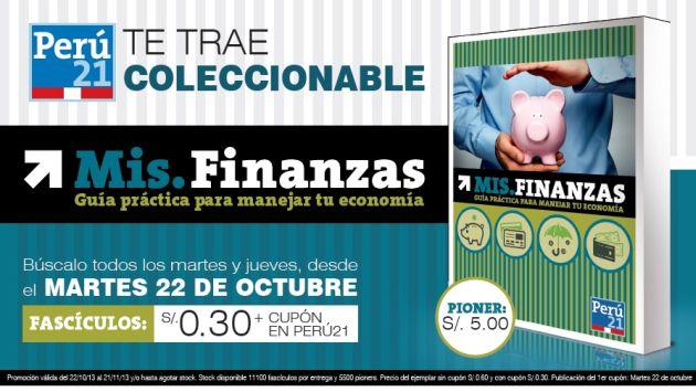 Cada fascículo costará 30 céntimos con cupón. (Perú21)