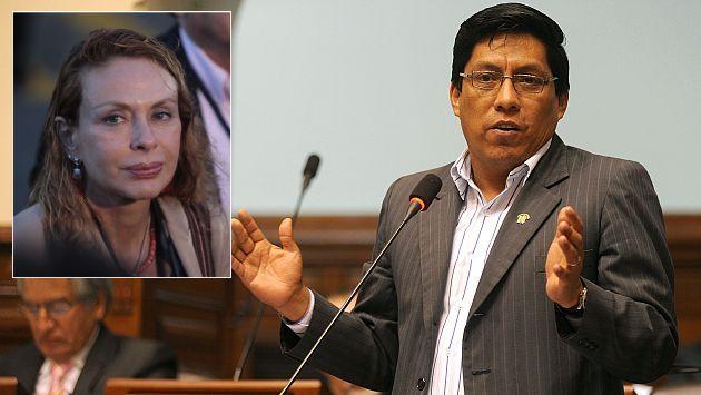 Vicente Zeballos señaló que no se aceptó pedido de Eliane Karp. (USI/Martin Pauca)