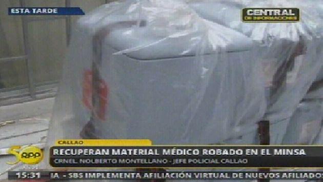 Especies fueron recuperadas por la Policía. (RPP TV)