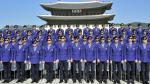 FOTOS: Policía 'Gangnam Style' patrulla las calles de Seúl - Noticias de baile del caballo