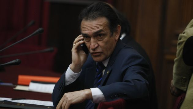 Héctor Becerril fue elegido por decisión de su bancada. (Perú21)