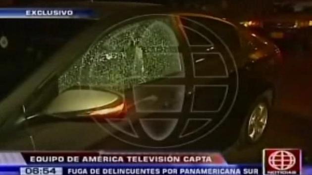 Auto robado fue recuperado por la Policía. (Canal 4)
