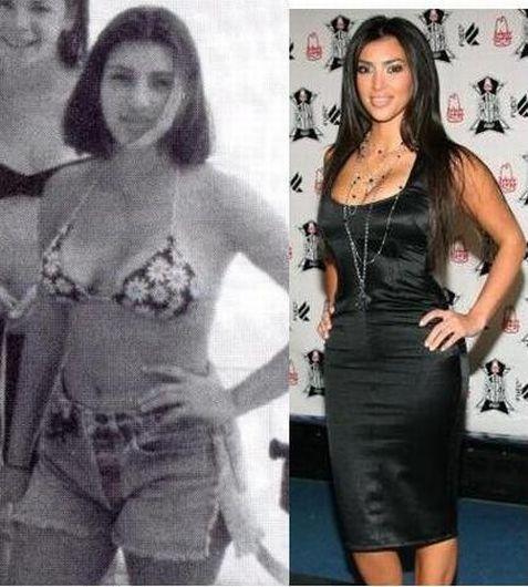 FOTOS: Kim Kardashian y sus cinco transformaciones