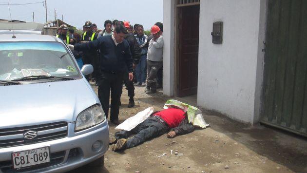 Un testigo fue clave para encontrar a asesinos de Ruiz Díaz. (Roger La Chira/USI)
