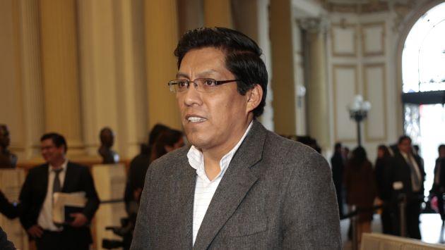 Vicente Zeballos cuestionó a Luis Lamas Puccio, abogado de Alejandro Toledo. (Perú21)