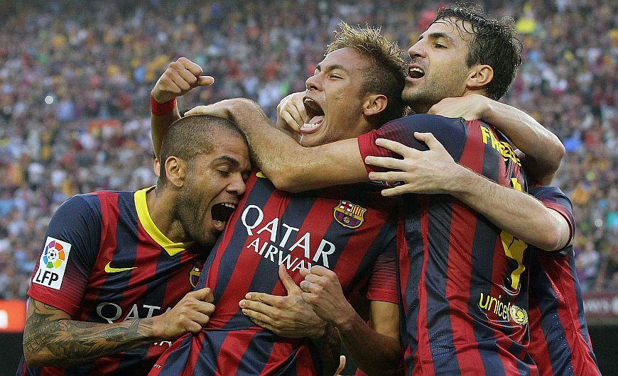 Barcelona se metió el clásico al bolsillo al derrotar 2-1 al Real Madrid. (EFE)