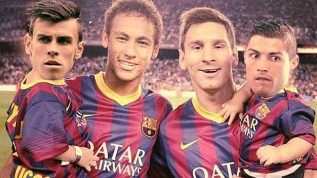 Los tienen de hijos. Neymar y Messi fueron más. (Internet)