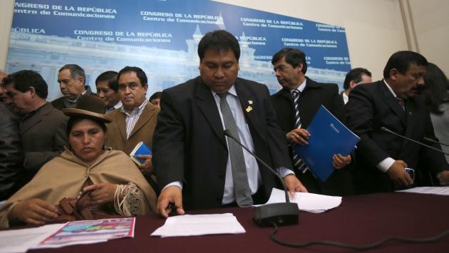 Martín Rivas ya había presentado antes otras iniciativas a favor del grupo empresarial chiclayano. (M. Pauca)