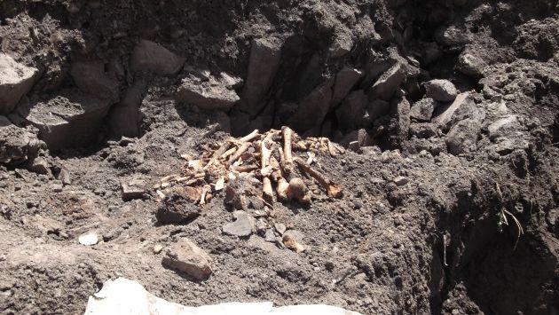 Los restos fueron hallados en cerro Pinculluna.  (Perú21/Referencial)