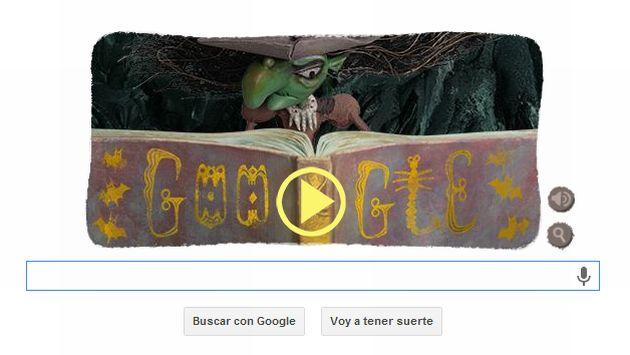 Google creó entretenido doodle. (Google)