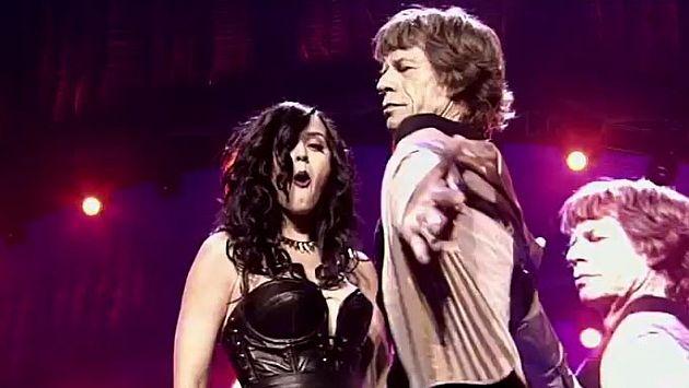 Mick Jagger negó acoso a Katy Perry. (AP)