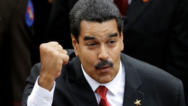 Nicolás Maduro. (AP)