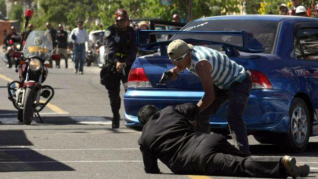La delincuencia sigue agobiando a la ciudadanía todos los días. (Perú21)