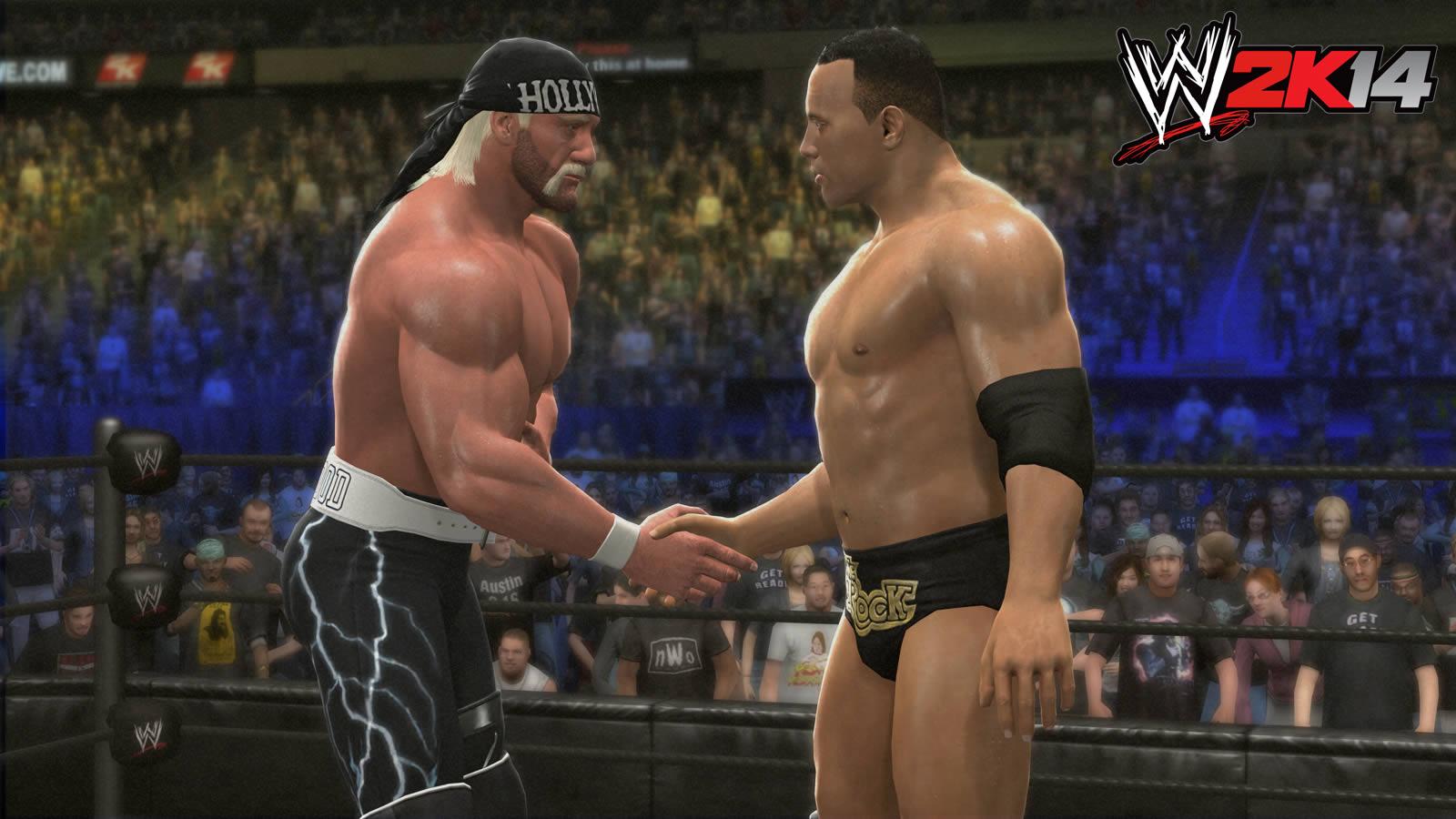 WWE 2K14 revive las mejores peleas de la lucha libre. (Internet)