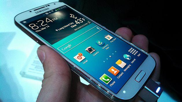 El Galaxy S4 pronto sería reemplazado. (Internet)