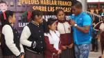 David 'La Pantera' Zegarra previene a escolares sobre consumo de drogas - Noticias de juana alarco