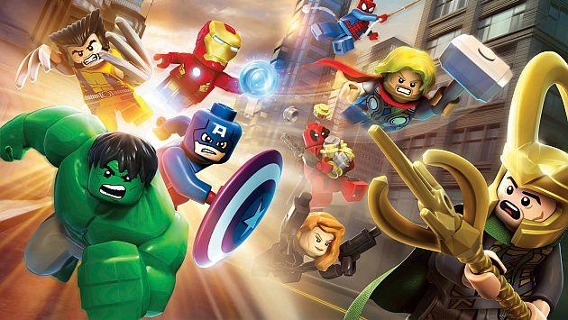 Lego Marvel Super Heroes llega con un diseño peculiar de personajes. (Internet)