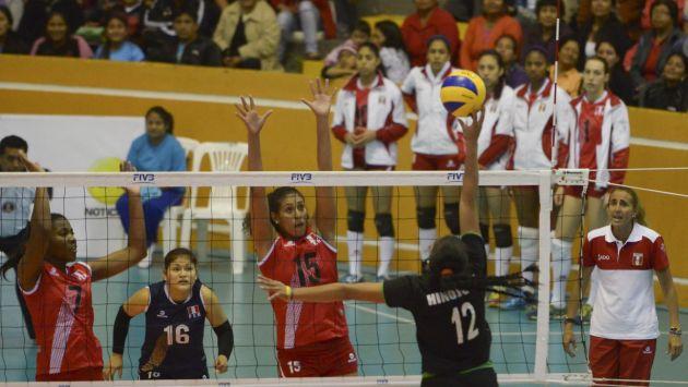 Natalia Málaga le puso como objetivo a sus dirigidas obtener la medalla de oro. (Difusión)
